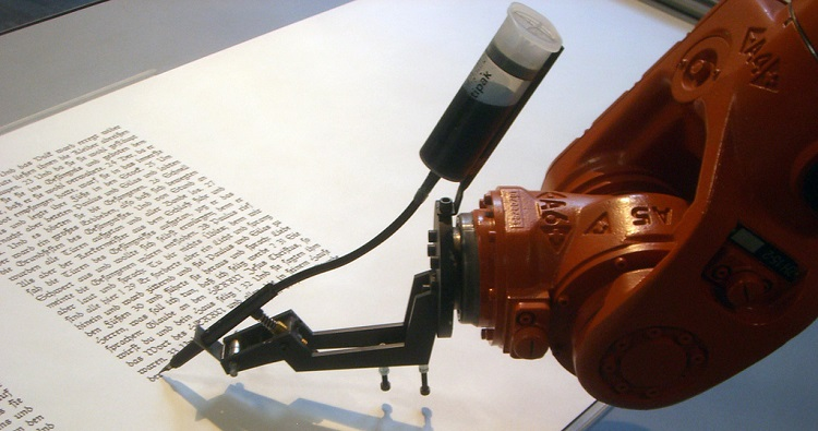 Automated content writing robot