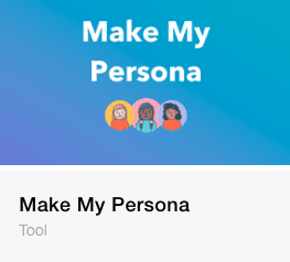 make my persona lead generation tool from hubspot